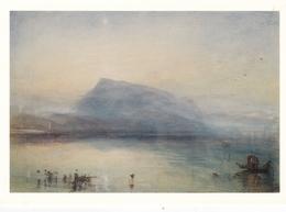 J M W Turner The Blue Rigi Sunrise Postcard Used Good Condition - Peintures & Tableaux