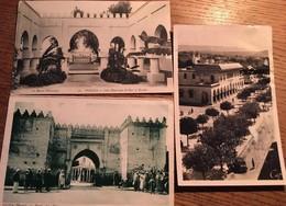 3 CPA, OUDJDA, OUJDA , Maroc - Marokko