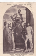Titian St Mark And The Four Saints Postcard Used Good Condition - Paintings