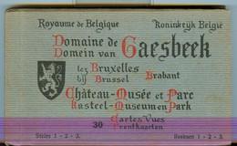 19/4 Belgique Carnet Booklet Complet 30 Cartes  Chateau Musee GAESBEEK - België