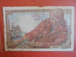 FRANCE 20 FRANCS 1943 CIRCULER - 1871-1952 Anciens Francs Circulés Au XXème