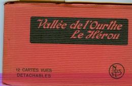19/4 Belgique Carnet Booklet Complet 12 Cartes LE HEROU OURTHE - Houffalize