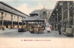 Bruxelles - Le Marché Aux Poissons - Couleurs - Markten