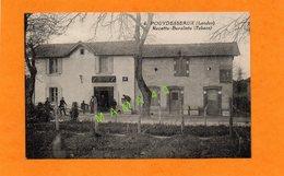 CPA - 40 - POUYDESSEAUX - RECETTE BURALISTE - CARTE ANIMEE - France