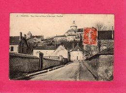 77 Seine Et Marne, PROVINS,TOUR CéSAR ET DÔME ST-QUIRIACE, 1912, (J. Lefebvre) - Provins
