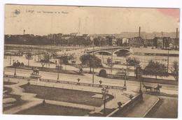 1932  Liége - Les Terrasses Et LA Meuse - Ed Nels Serie 8 Nr 26 -  Carte Vers France - Kaststempel DOVER - OSTEND - Liege