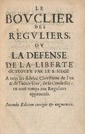 De La Confession Autorisée - Before 18th Century