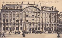 CARTOLINA - POSTCARD - BELGIO -  BRUXELLES - GRAND' PLACE - COTè SUD - EST. - Monumenti, Edifici