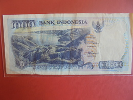 INDONESIE 1000 RUPIAH 1992 CIRCULER - Indonesia