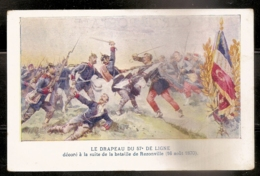 LE DRAPEAU DU 57 DE LIGNE - BATAILLE DE REZONVILLE - 16 AOUT 1870 - Régiments
