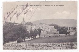 Carte Postale St Bonnet Du Froid Vue Générale - Autres Communes