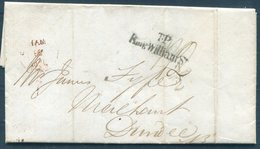 1839 GB Entire London. King William Street T.P. - Dundee Scotland - Great Britain