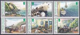 Pitcairn 1996 Transport Versorgungsschiffe Schiffe Ships Boote Boats Handel Trade Waren Goods Versorgung, Mi. 469-4 ** - Briefmarken