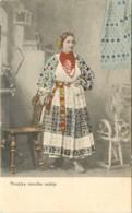 CROATIE , HRVATSKA NARODNA NOŠNJA ( Fileuse ) , * 396 28 - Croatie