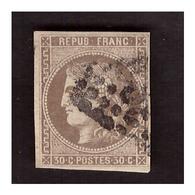 Timbre N° 47 Obl. - 1870 Ausgabe Bordeaux