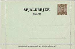 FRAL3- ISLANDE CARTE LETTRE 10aur MICHEL K11 NEUVE - Entiers Postaux