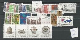 1990 MNH Denmark, Dänemark, Year Complete, Postfris - Danimarca