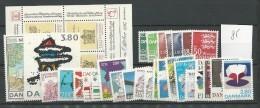 1985 MNH Denmark, Dänemark, Year Complete According To Michel, Postfris - Danimarca