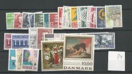 1984 MNH Denmark, Dänemark, Year Complete According To Michel, Postfris - Danimarca