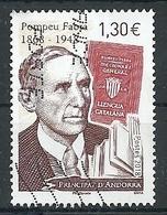 ANDORRA FRANCESA 2018 - Pompeu Fabra - Used Stamps