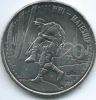 Australia - Elizabeth II - 20 Cents - 2015 - Mateship - Monnaie Décimale (1966-...)