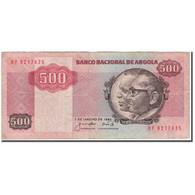 Billet, Angola, 500 Kwanzas, 1984-01-07, KM:120A, TB - Angola
