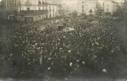 34 , BEZIERS ,  08-02-1925, Obsèques Des Victimes De La Catastrophe , Carte Photo , * 398 77 - Beziers