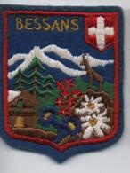 Ecusson Tissu Ancien/ Brodé/BESSANS / Savoie/Vers 1960-1980    ET265 - Scudetti In Tela