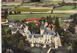 25-CLERON- LE CHATEAU VUE DU CIEL - France