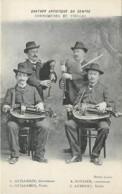 Quatuor Artistique Du Centre , Cornemuses Et Vielles , ( Guillemin Rondier Aubouet ) , * 399 73 - Autres Communes