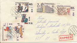 Czechoslovakia Cover Sent Express Praga 13-9-1979 - Czechoslovakia