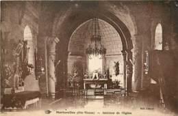 87 , MORTEROLLES , Interieur De L'église , * 400 38 - France