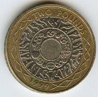 Grande Bretagne Great Britain 2 Pounds 1999 KM 994 - 1971-… : Monete Decimali
