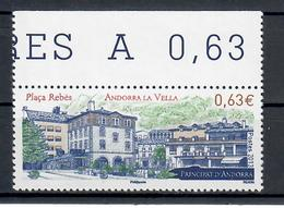 ANDORRA FRANCESE 2013 - TURISTICA - ANDORRA LA VELLA  - MNH ** - Andorra Francese