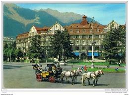 MERANO:  PIAZZA  MAZZINI  -  GRAND  HOTEL  EMMA  -  FG - Alberghi & Ristoranti