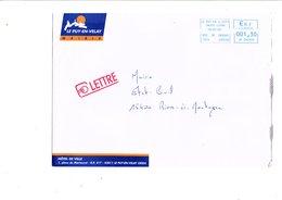 LETTRE DE MAIRIE DE LE PUY EN VELAY HAUTE LOIRE - Marcophilie (Lettres)