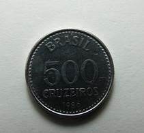 Brazil 500 Cruzeiros 1986 - Brasil