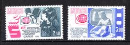 Monaco  - 1984. Festival Della Montecarlo TV. Complete MNH Fresh Series - Telecom