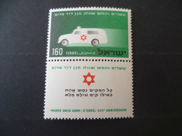 TIMBRE ISRAEL N° 96 NEUF **  MNH   CROIX ROUGE  ISRAEL - Israel