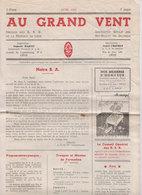 SCOUTS   Au Grand Vent  Liège  1942 - Scoutisme