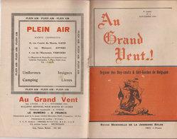 SCOUTS   Au Grand Vent  Liège  1948 - Scoutisme