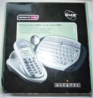RARE TELEPHONE SANS FIL DECT ET SON CLAVIER SMS ALCATEL VERSATIS 1190 TBE   C - Téléphonie