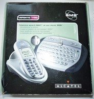 RARE TELEPHONE SANS FIL DECT ET SON CLAVIER SMS ALCATEL VERSATIS 1190 TBE   C - Telephony