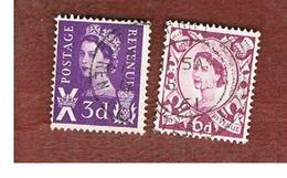 GRAN BRETAGNA (UNITED KINGDOM) - SG S3.7 REGIONAL ISSUES - 1958 SCOTLAND: QUEEN ELIZABETH   - USED° - Regionali