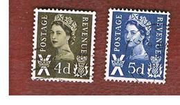 GRAN BRETAGNA (UNITED KINGDOM) - SG S9.11 REGIONAL ISSUES - 1968 SCOTLAND: QUEEN ELIZABETH   - USED° - Regionali