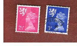 GRAN BRETAGNA (UNITED KINGDOM) - SG S14.16 REGIONAL ISSUES - 1971 SCOTLAND: QUEEN ELIZABETH   - USED° - Regionali