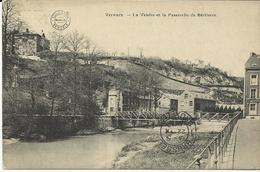 Verviers La Vesdre Et La Passerelle De Bériboux  (1382) - Verviers