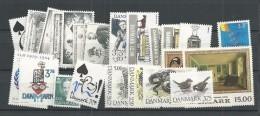 1994 MNH Denmark, Dänemark, Year Complete, Postfris - Danimarca