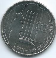 Australia - Elizabeth II - 20 Cents - 2015 - Unknown Soldier - Decimal Coinage (1966-...)