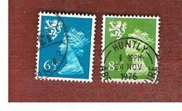 GRAN BRETAGNA (UNITED KINGDOM) - SG S23.27 REGIONAL ISSUES - 1976 SCOTLAND: QUEEN ELIZABETH   - USED° - Regionali